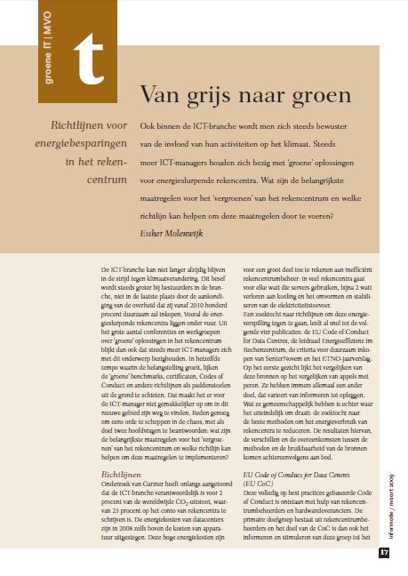 Bureau DaadWerk - Informatie - Van Grijs naar Groen
