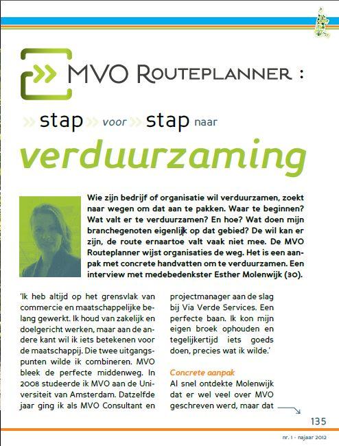 Bureau DaadWerk - Onderneem Duurzaam - MVO Routeplanner