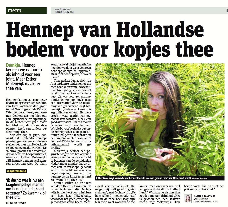 2015-08-20 Dutch Harvest in Metro